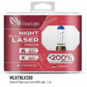 Clearlight - H7 - 12V-55W Night Laser Vision +200% Light